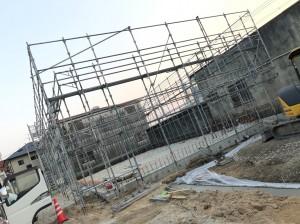 吉田様建設資材倉庫